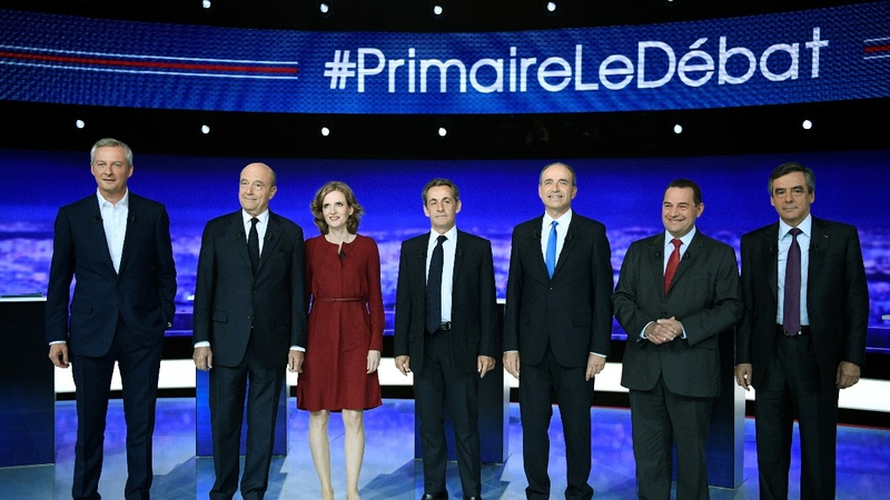 Battle of hopeful French presidential candidates