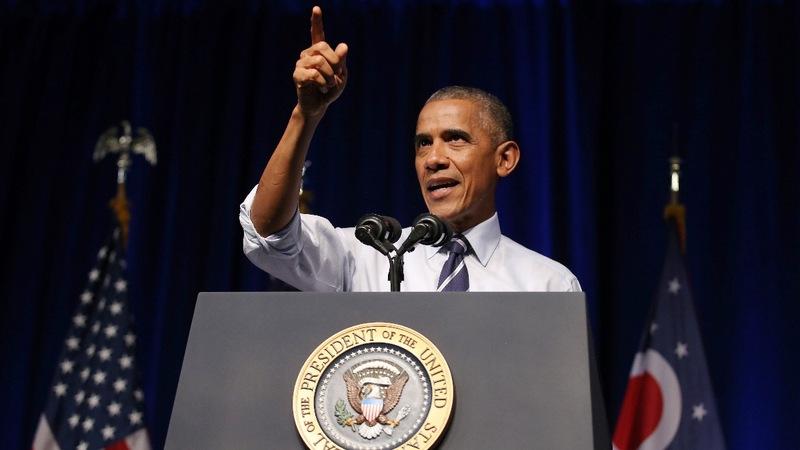 VERBATIM: Obama says of Trump, 'C'mon, man'