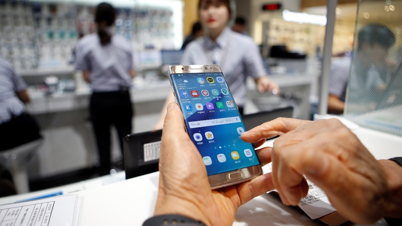 Samsung Note 7 banned from U.S. flights