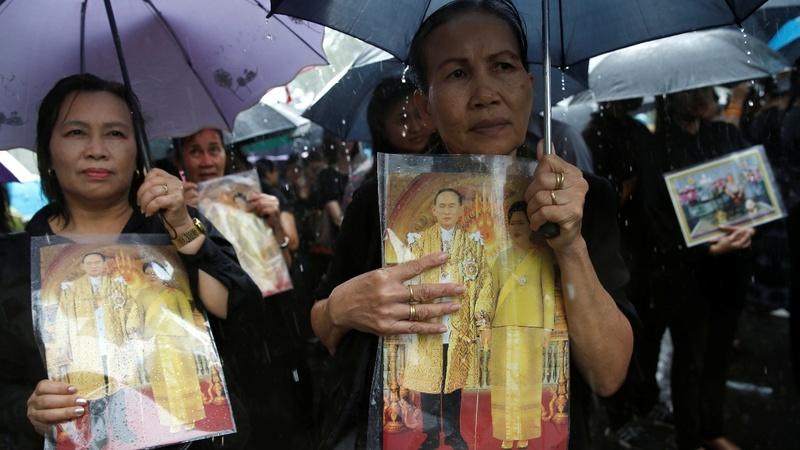 Thai Prince asks for coronation to be delayed