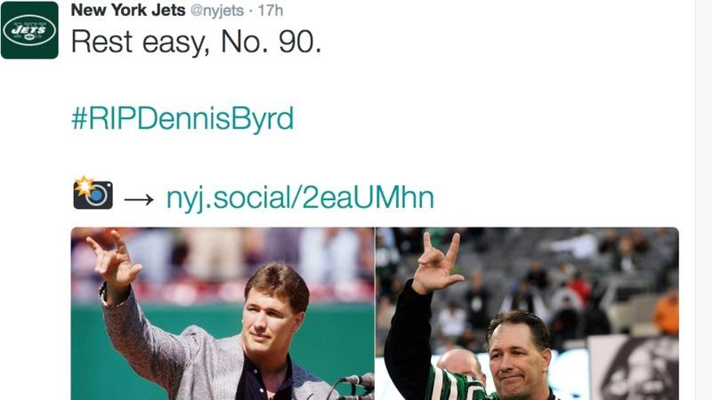 NFL mourns inspirational former player Dennis Byrd