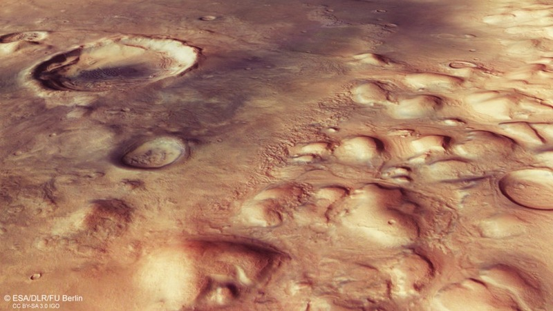 European probe begins perilous Mars landing