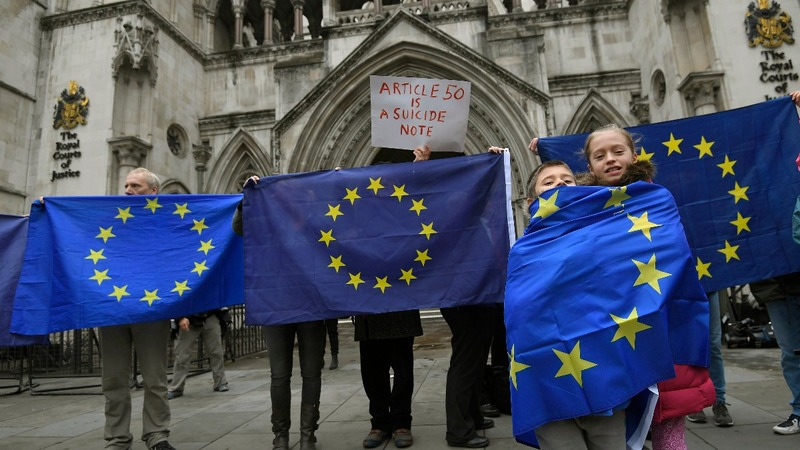 Brexit article 50 battle heard in court
