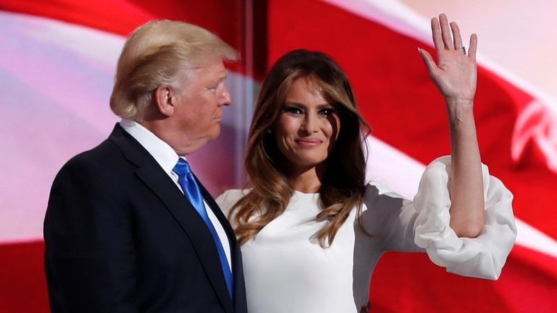 Melania defends Trump's 'boy talk'