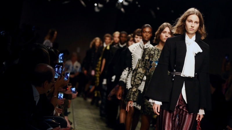 Sterling flatters Burberry results