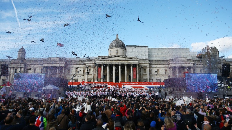 INSIGHT: Team GB joy at homecoming parade