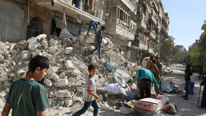 Temporary halt on Aleppo air strikes