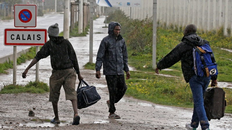 Calais migrant children prepare for UK life