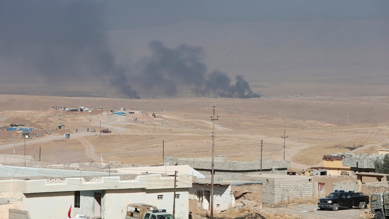 Islamic State using human shields in Mosul