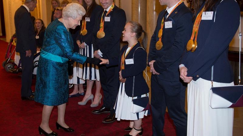 INSIGHT: British Olympians receive royal reception