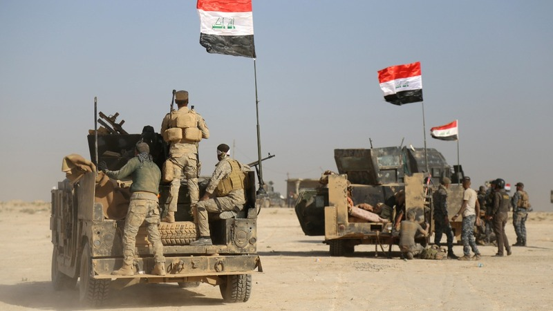 Mosul's horror: Human shields, poison gas