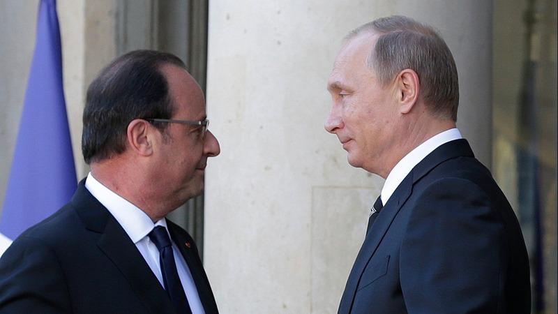 Putin snubs Hollande amid Syria tensions