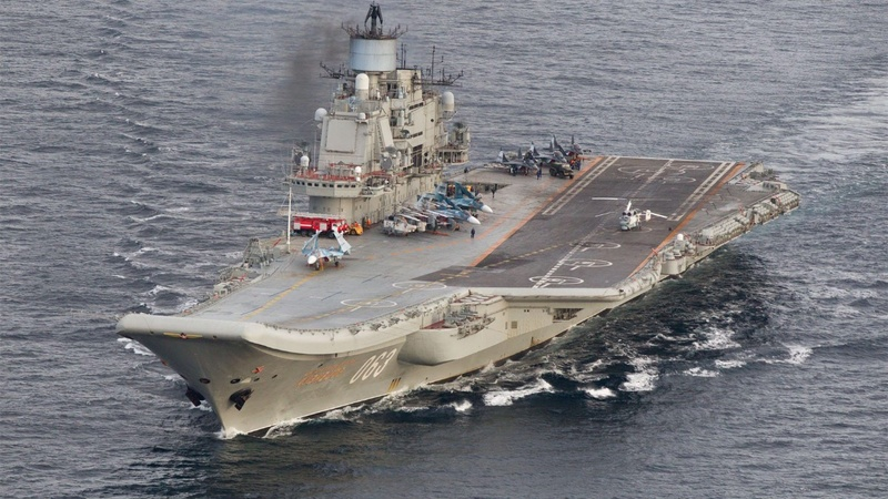 Massive Russian naval maneuver aimed at Aleppo