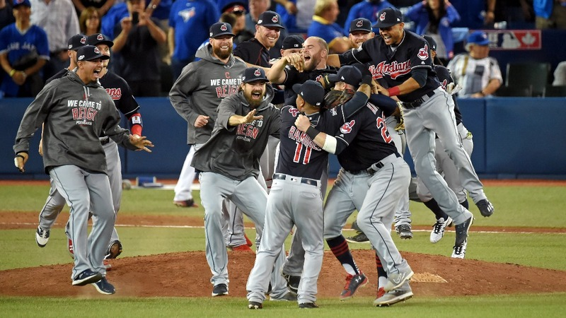 Hot in Cleveland: Indians advance to the World Series