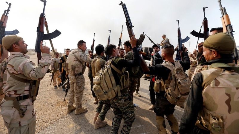 Mosul offensive advancing faster than planned