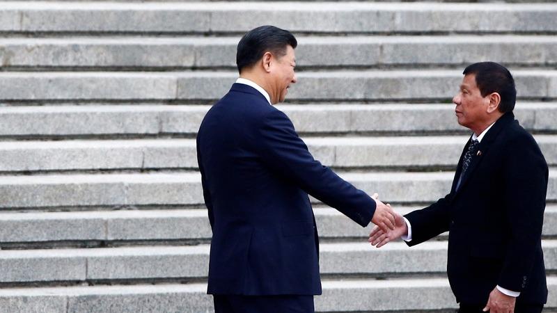 Duterte's pivot to China threatens U.S. strategy