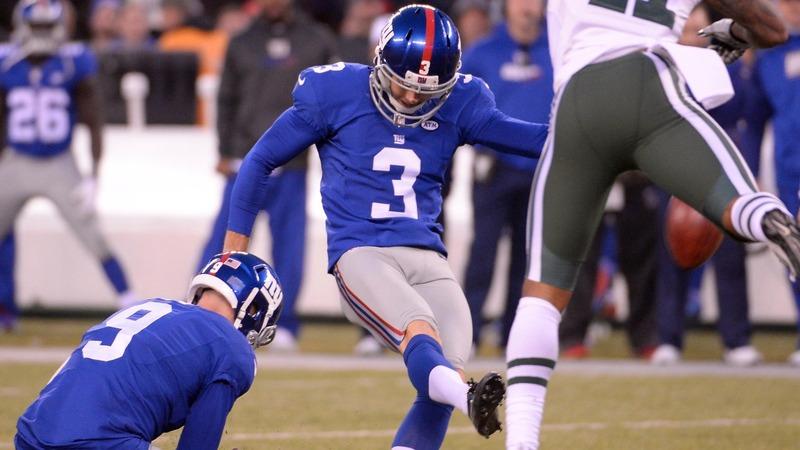 Giants defend kicker amid domestic abuse revelations