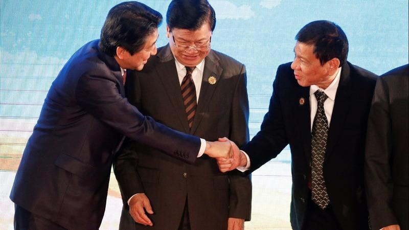 Duterte's big talk puts Japan in an awkward spot