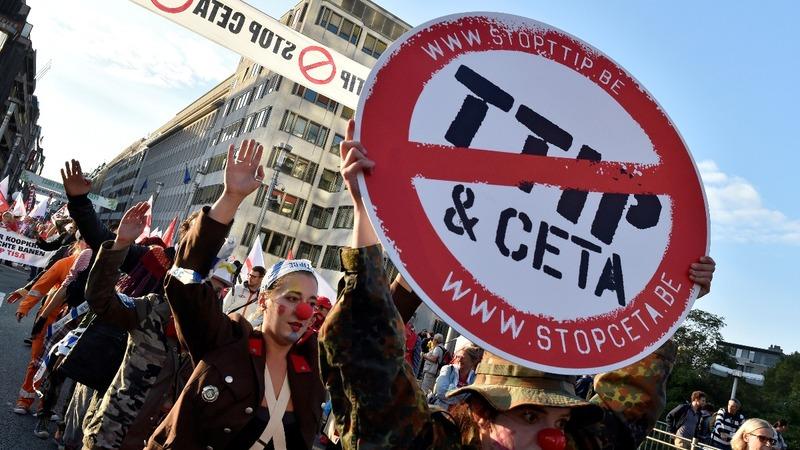 Trudeau left hanging as Belgium blocks CETA