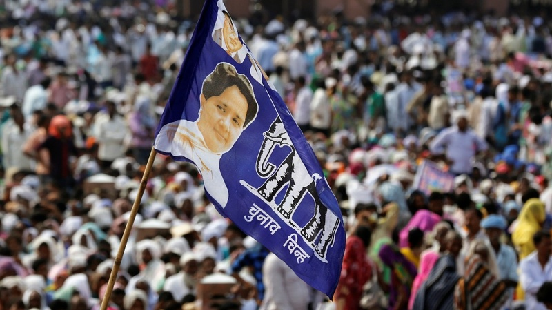 India's 'Dalit Queen' rises to challenge Modi