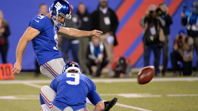 Giants release kicker after domestic abuse revelations