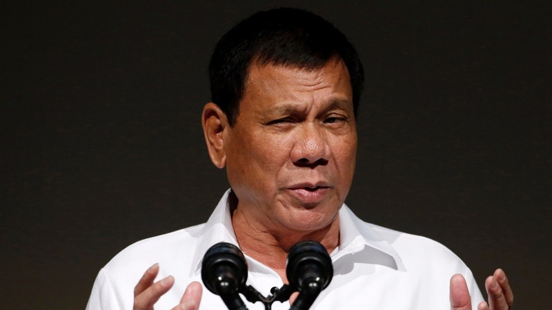 Duterte tries to soothe Japan, blasts the U.S.