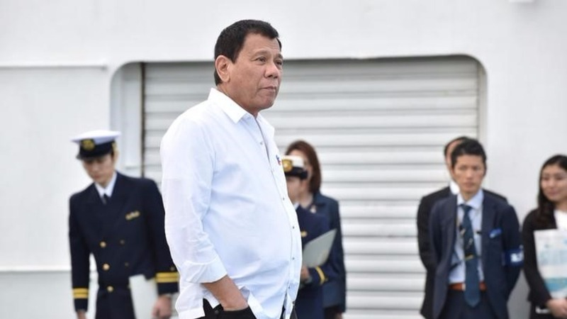 Duterte blasts U.S. during Japan state visit