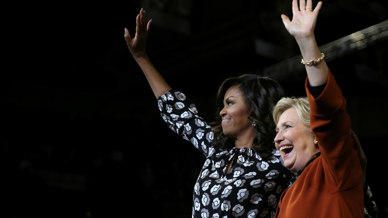 VERBATIM: First Ladies join forces on the campaign trail