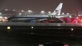 Mike Pence's plane skids off LaGuardia runway
