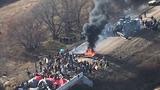 Police crack down on Dakota pipeline protesters
