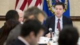 Spotlight on FBI's Comey amid new Clinton probe
