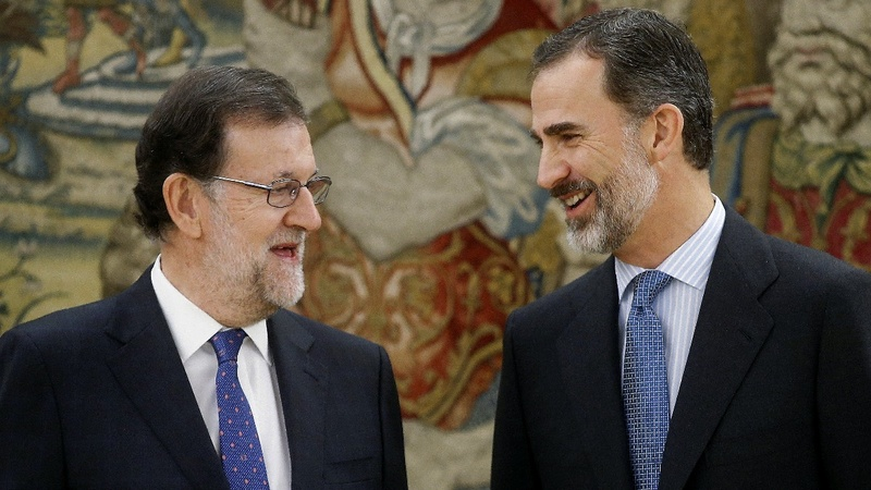 Spain's Rajoy sworn in as prime minister