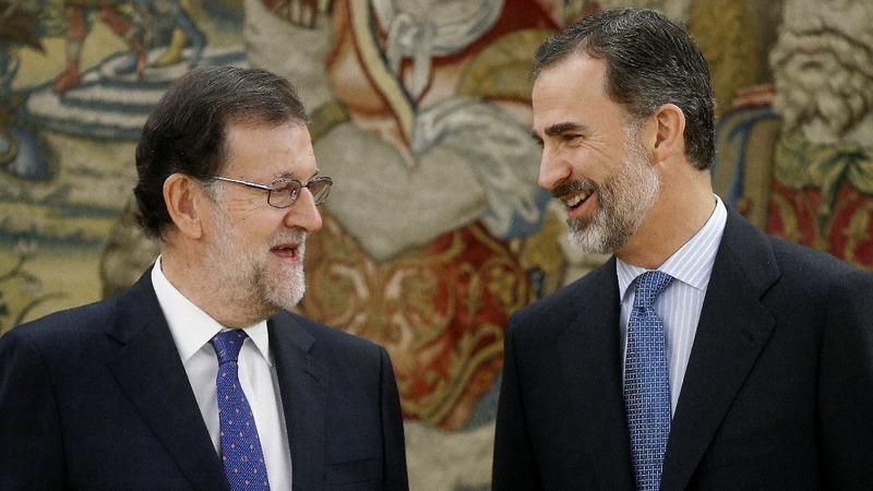 Spain's Rajoy sworn in as prime minister
