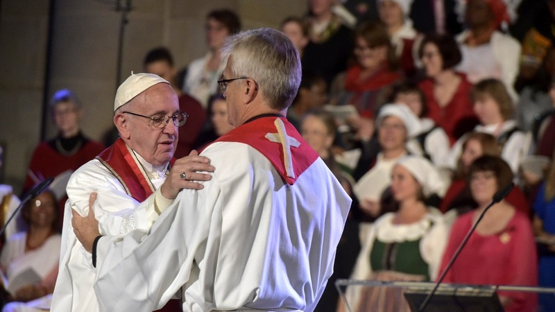 Pope reaches out to mark Reformation