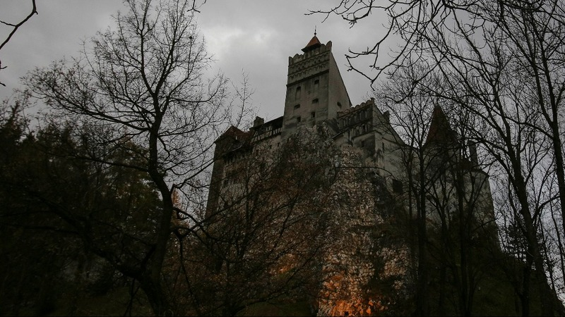 INSIGHT: A night in Romania's Dracula castle