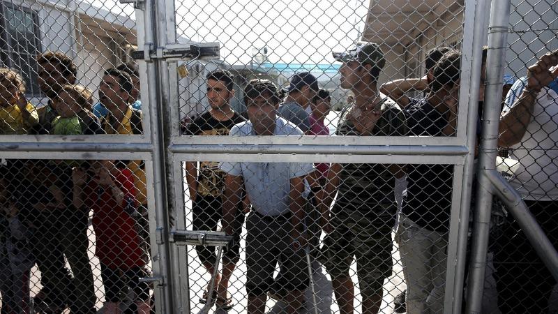 Refugees languish in Greek limbo
