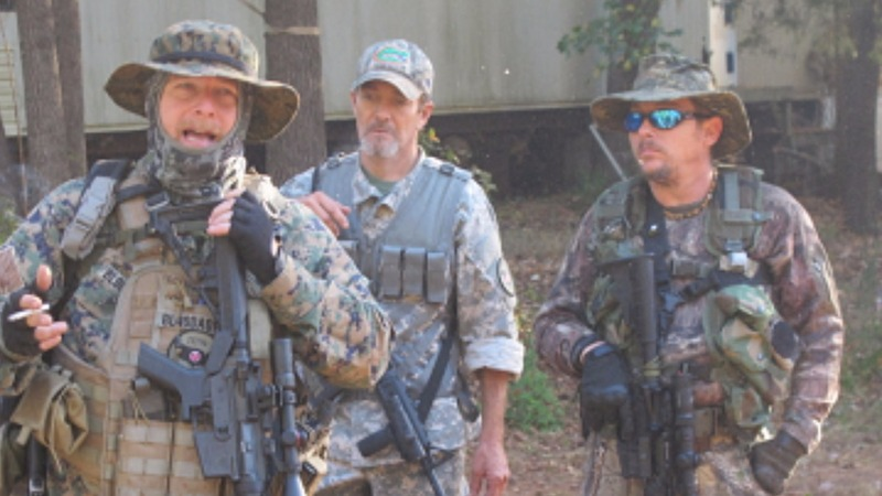 In one Georgia forest, a militia preps for Nov. 9