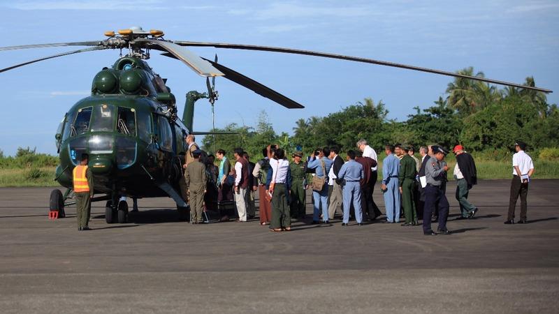Diplomats investigate abuse reports in Myanmar