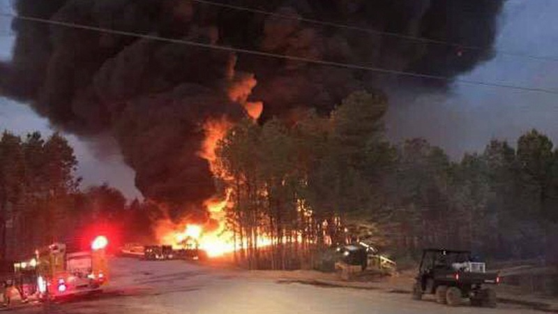A key oil pipeline could restart Saturday, after blast