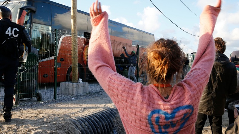Last of the jungle youth bused out of Calais
