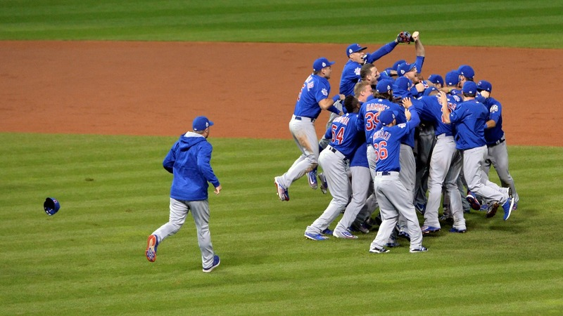 Cubs win first World Series since 1908