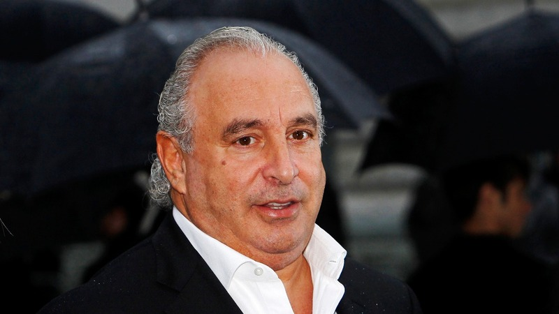 UK pension watchdog targets Sir Philip Green