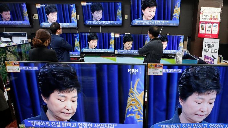 S. Korea's Park apologizes for 'heartbreaking' scandal
