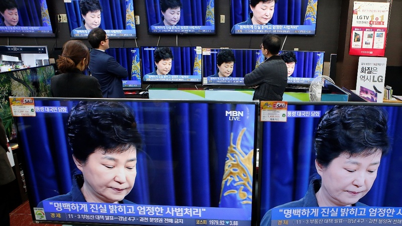 S. Korea's Park apologizes for 'heartbreaking' scandal