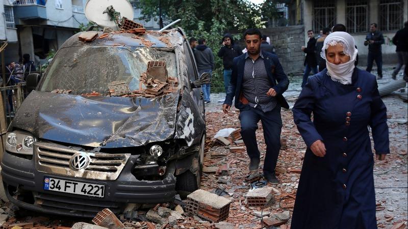 Eight dead after massive blast in southeast Turkey