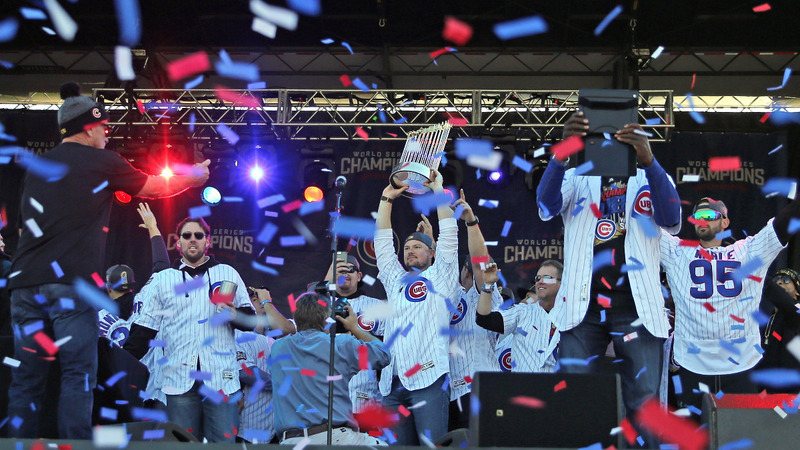 INSIGHT: Cubs celebrate World Series win in Chicago