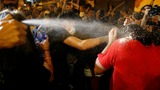 Clashes erupt during Hong Kong protests
