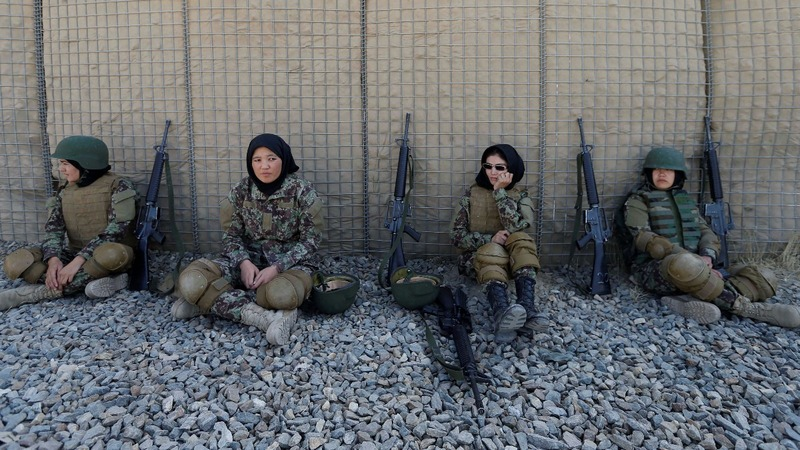 Women in Afghan army face pressure and threats