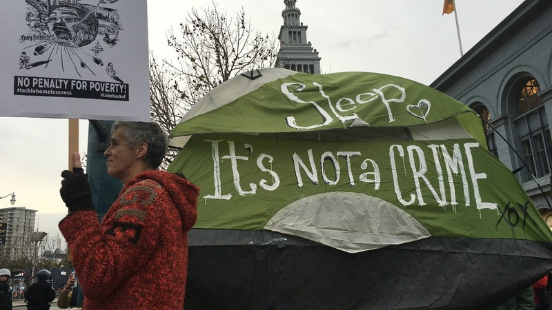 San Francisco votes on fate of homeless tents