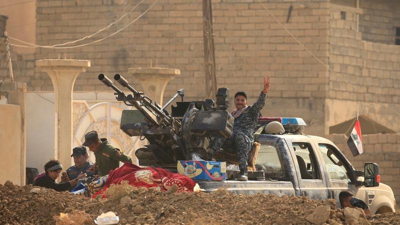 "Iraqi civilians ""used as human shields"""